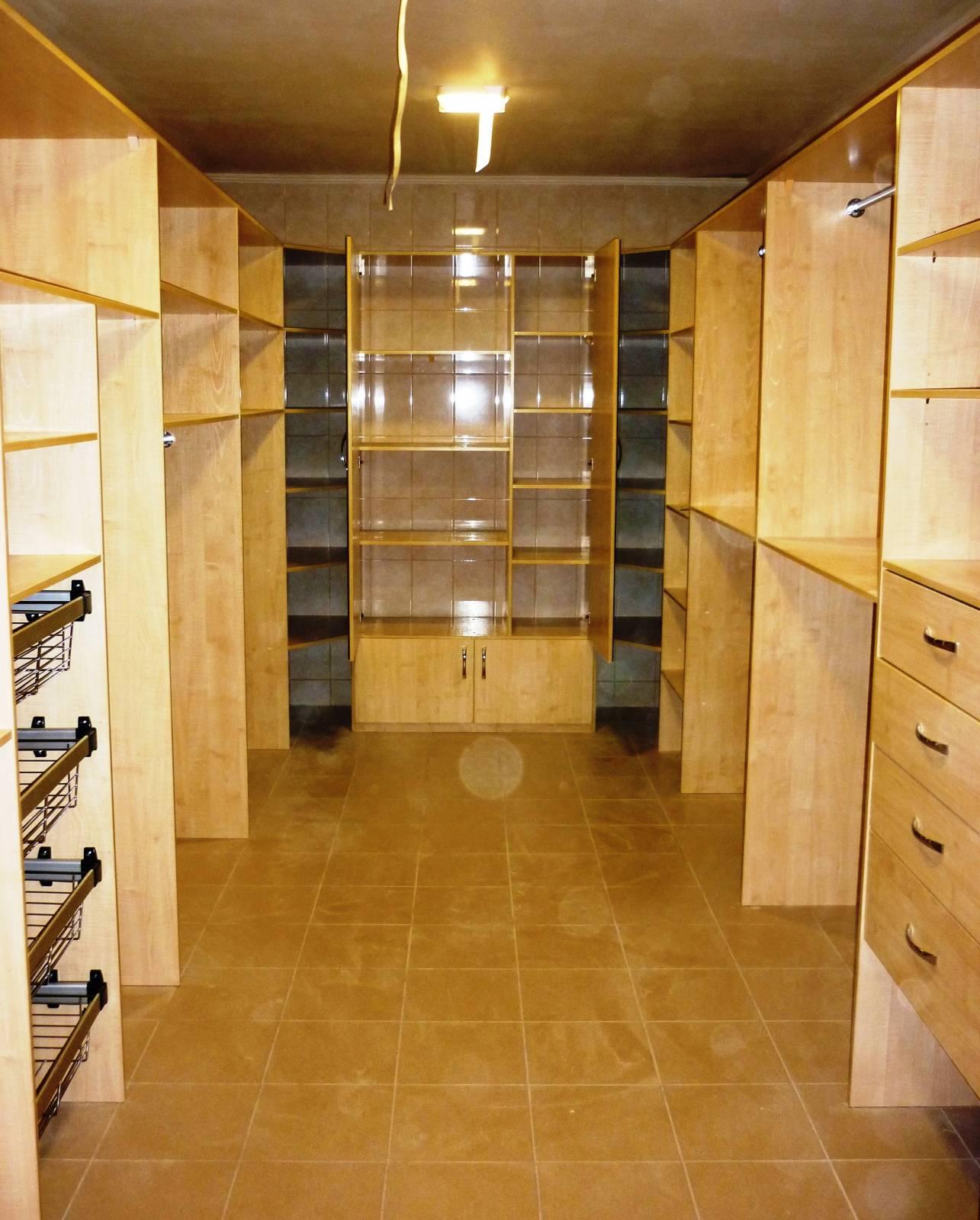 3d проектирование наполнения гардеробных комнат + изготовлен.